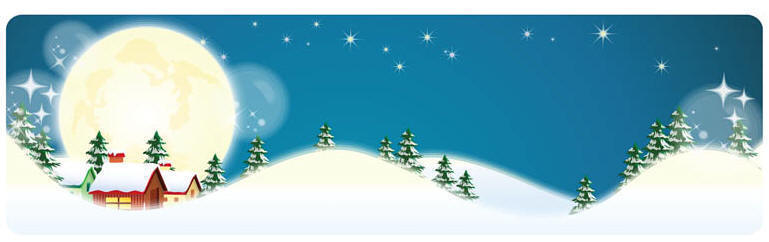 horizontal-christmas-banners-vector