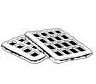 stock-vector-vector-line-art-viennese-waffles-belgian-waffles-325498526